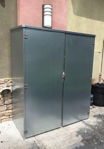 Outdoor Utility Cabinet for Anaheim Restaurant