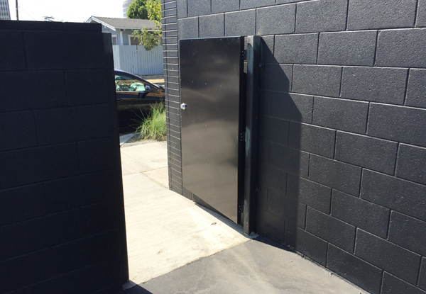 Custom fabricated steel door in Anaheim, CA
