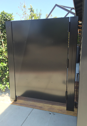 Custom steel doors & enclosures, Anaheim, CA.