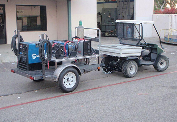Custom Fabricated Equipment Trailer