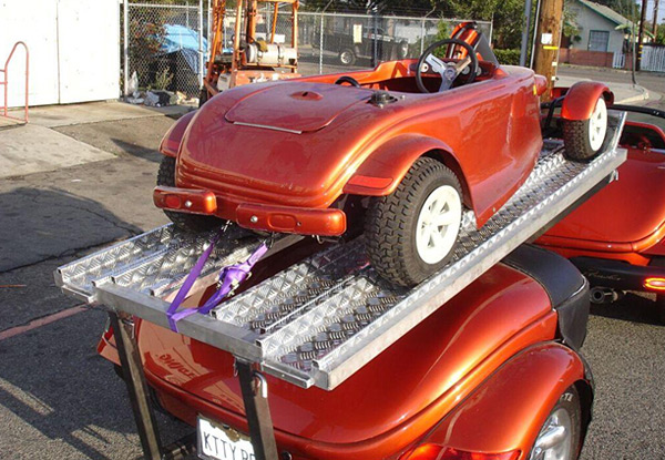 Custom Fabricated Show Car Trailer
