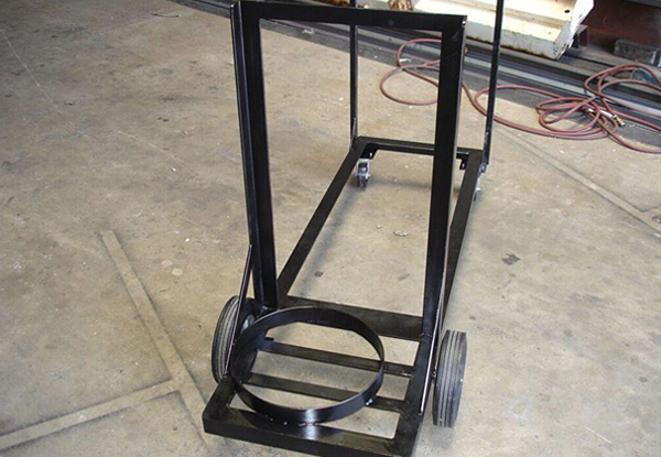 Custom Welded Equipment Cart in Anaheim