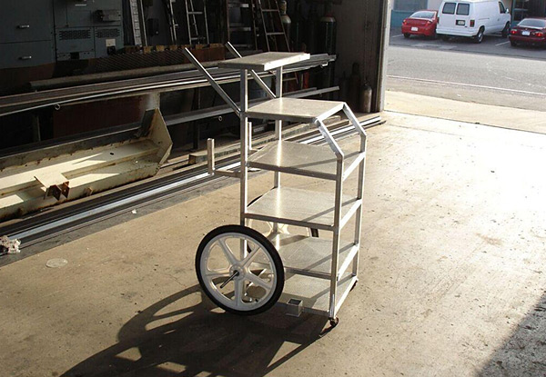 Custom Welded Sound Cart in Orange County