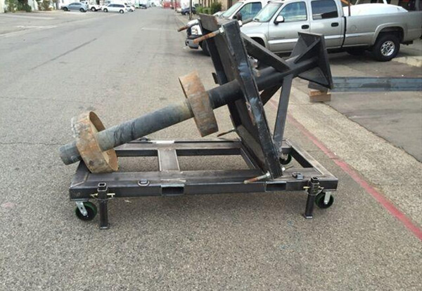 Custom Welded Heavy Duty Transportation Dolly