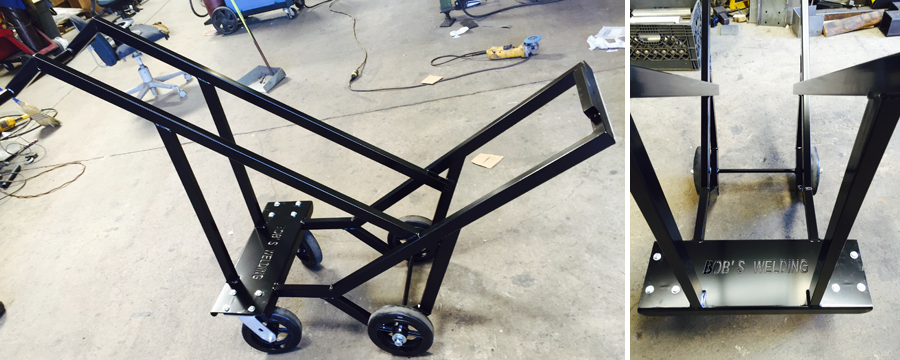 Metal cart fabrication Anaheim, CA.