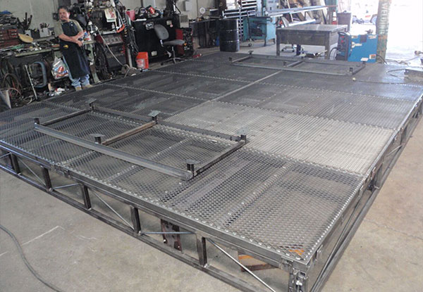 Anaheim, CA - Custom Fabricated Industrial Platform
