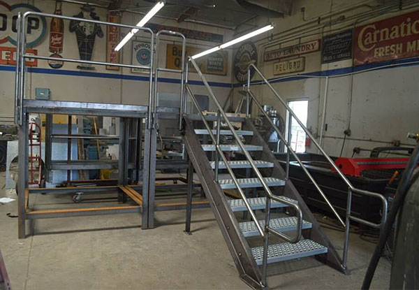 Custom Steel Fabrication in Fullerton