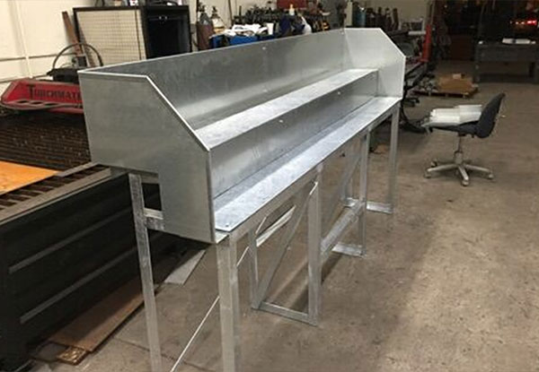 Custom Fabricated Benches