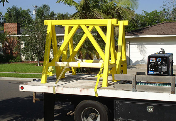 Custom Steel Fabrication in Santa Ana